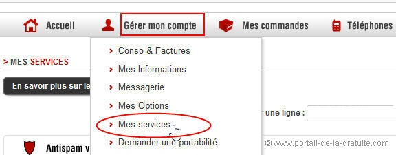 comment desactiver l interdiction d appel free